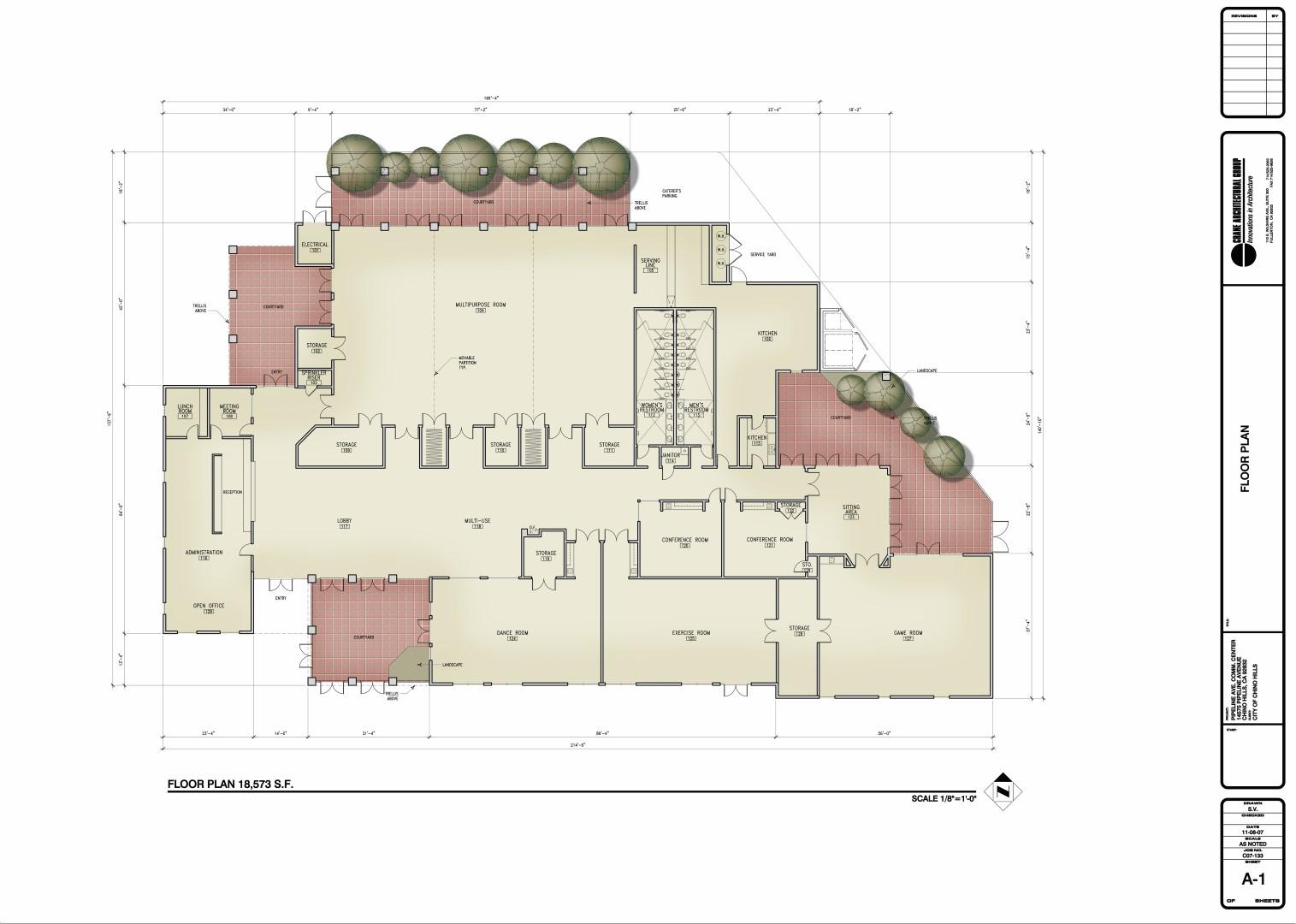 A-01 Floor Plan