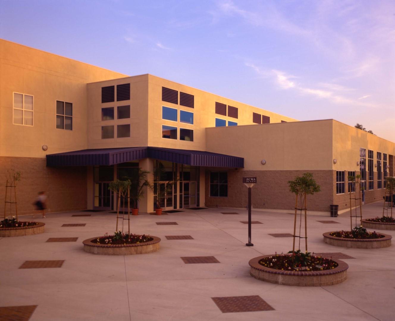 2 Hope International University, Gymnasium_Student Center (Exterior Day), Fullerton, CA