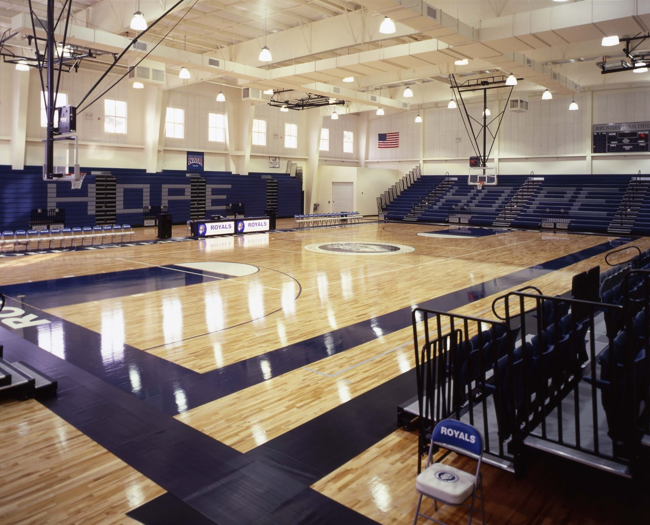 4 Hope International University, Gymnasium_Student Center (Lobby), Fullerton, CA